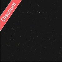 black sparkle GALAXY floor tiles LJ6063