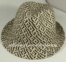 Fedora straw hat / Paper fedora hat