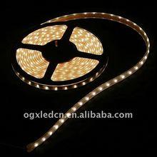 5meters 3528 120led 48w IP65 warm white Illuminated LED Strip Light