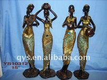 resin black people crafts
