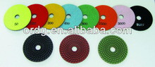 "4"" Wet Type Diamond Soft Pads"