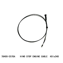 BEST QUALITY HINO 78405-2570A STOP ENGINE CABLE