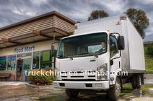 Isuzu ql1080tkary 4x2 camiones volquete/chasis de camión