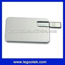2012 new style card shape usb flash driver