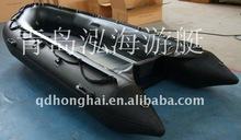 pontoon boat for sale 4.3m Military aluminum floor inflatable boat
