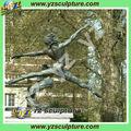 Estatua clásica grande de bronce de Jete BFS-D167