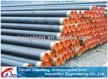 BS /GB fluid 3 PE coated steel pipe