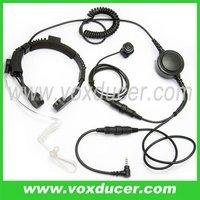 throat vibration mic earphone for Yaesu Vertex VX-10 VX-110 VX-130 VX-131 VX-132 VX150 VX-160 VX-180 VX-210 VX-200 VX-350