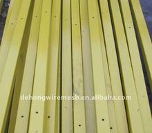 Plastic Fence Post/Plastic Coated Post(Factory)
