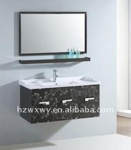 luxury stainless steel bathroom cabinet