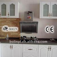 Kitchen Cabinet With PVC Cabinet Door