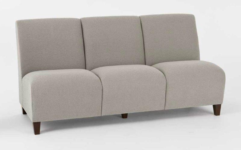 Sin brazos chaise lounge sof s para la sala de estar for Sofa cama sin brazos