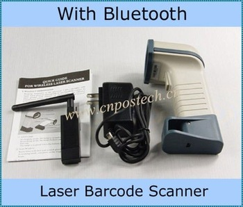 Bluetooth Wireless Laser Barcode Scanner