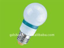 Auto flashing RGB bulb 1W G50 PC RGB led bulb lights