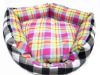 Colorful Pet Cat and Dog bed Indoor Pet Puppy Dog Cat pet house warm sponge bed cushion basket