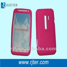 silicon skin case for HTC EVO 3D Shooter OEM