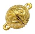 Cierres magnéticos para la fabricación de joyas de oro de color( palloy- j022- g)