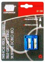 Twin Hole Pencil Sharpener(SDI BRAND from TAIWAN)
