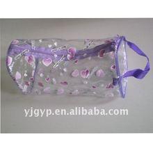 Hot sale! Promotional Eco-friendly lovely big make up bag