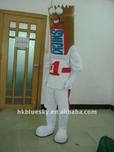 chocolate mascot costume for commercial activities