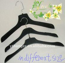 WD8551 coat and shirt hanger with black velvet