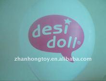 2012 good quality custom printing balloon