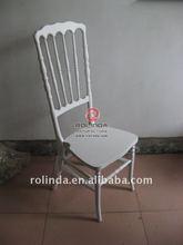 Graceful Wooden Castle King Queen Chair