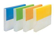 2012 Colorful Protable School Plastic Simple File Bag