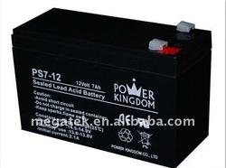 12v 7a Sealed lead acid dry batteries for ups