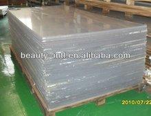 92% light transmittance clear cast plexiglass sheet (PMMA)
