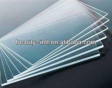 Cast plexiglass sheet for vacuuming