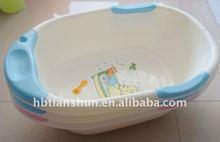 lovely design baby bathtub,colorful baby bathtub