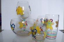Christmas Glass Set/Glassware set
