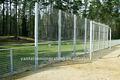 nero catena di recinzione collegamento