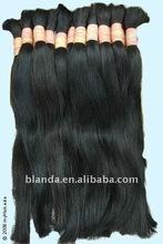 cheapest human hair bulk/straight Brazilian hair bulk extensions