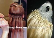 Virgin remy human hair Micro ring loop hair extension