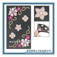 Various designs beautiful flower cell phone sticker