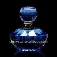 beautiful crystal perfume bottle