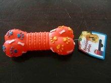 latex bone dog pet toy