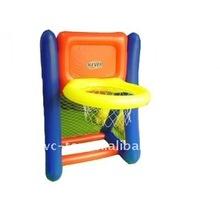 Inflatable basketball hoop for kids