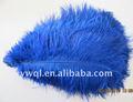 el hogar y la fiesta de boda decoraciones azul de plumas de avestruz