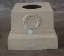 outdoor decorative garden flower pot base