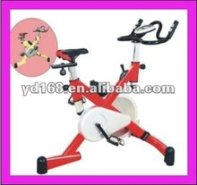 YD-5608 mini 15kg flywheel red exercise bike