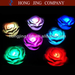LED rose float pool lights