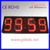 red 12inch 4digit large alibaba express large digital countdown timer
