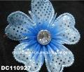 decoraciones plásticas de flor para zapatillas