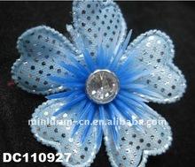 plastic decorations flower for slipper shoes