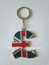 UK Flag Metal Keychain For London Olympic Games Souvenir Gift