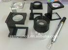 heidelberg printing plastic and metal magnifying glass