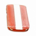 Mobile phone accessories colorful PU leather case for Blackberry Bold 9900